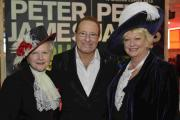 High Sheriff of East Sussex Juliet Smith and West Sussex Denise Patterson with Peter James