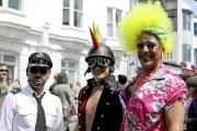Festival-goers at last year's Kemp Town Carnival in Brighton