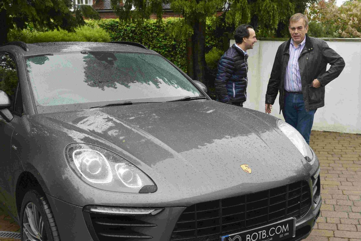 Wow: what it looks like to win a £45k Porsche