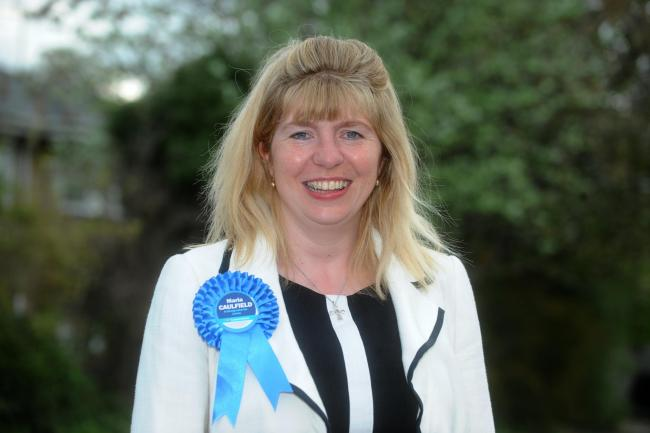 Conservative Maria Caulfield when she won the Lewes constituency in the general election last year Picture: Tony Wood.