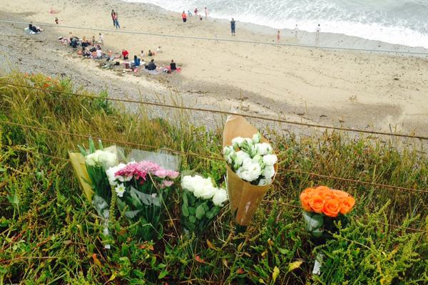The Argus: Floral tributes left to Arthur Cave