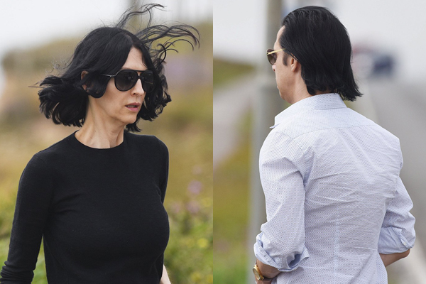 UPDATED Nick Cave and family visit floral tributes left to son Arthur killed after cliff fall