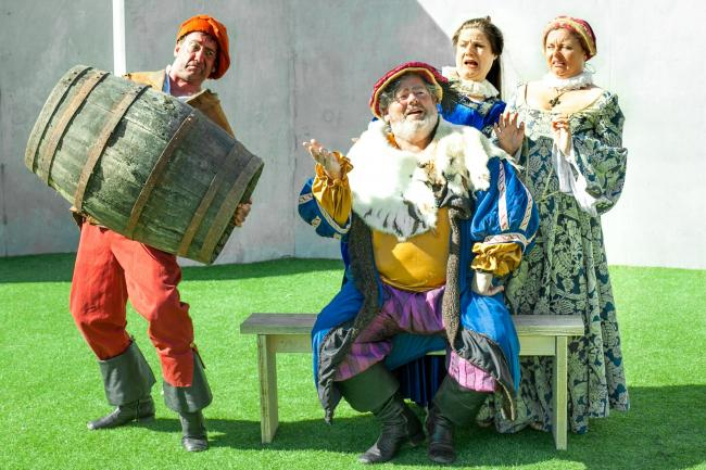 Merry Wives Of Windsor. Credit Alia Halstead