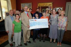 Charities get a boost at donation reception