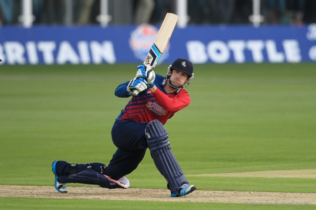 Alex Blake has been in fine form in limited overs cricket for Kent this season