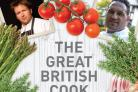The front cover of the Great British Cook Book