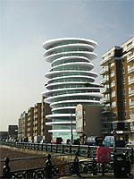 The proposed Sirus Tower would house about 25 flats