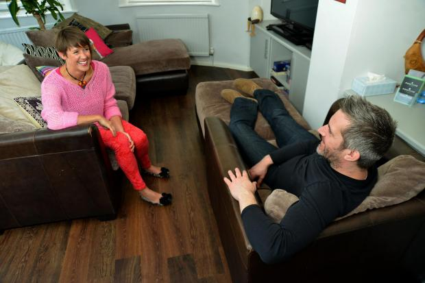 The Argus: Jeremy Norton with Liz Davies. Photo: Tony Wood.