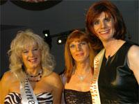 Jo, right, won Miss Mature, while Linda Martin, left, was runner-up