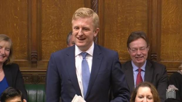 The Argus: MP for Hertsmere Oliver Dowden during the latest PMQs