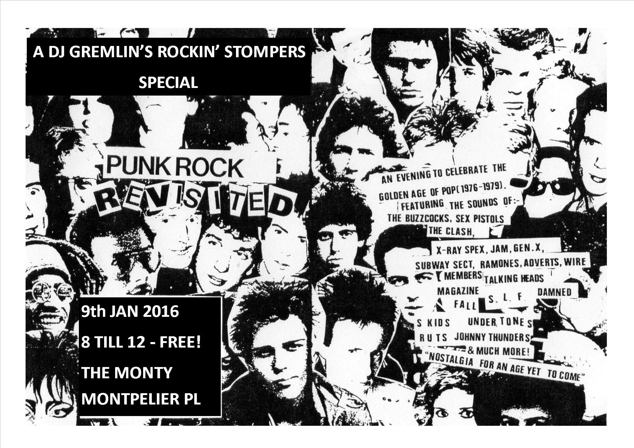 Punk Rock Revisited at The Monty