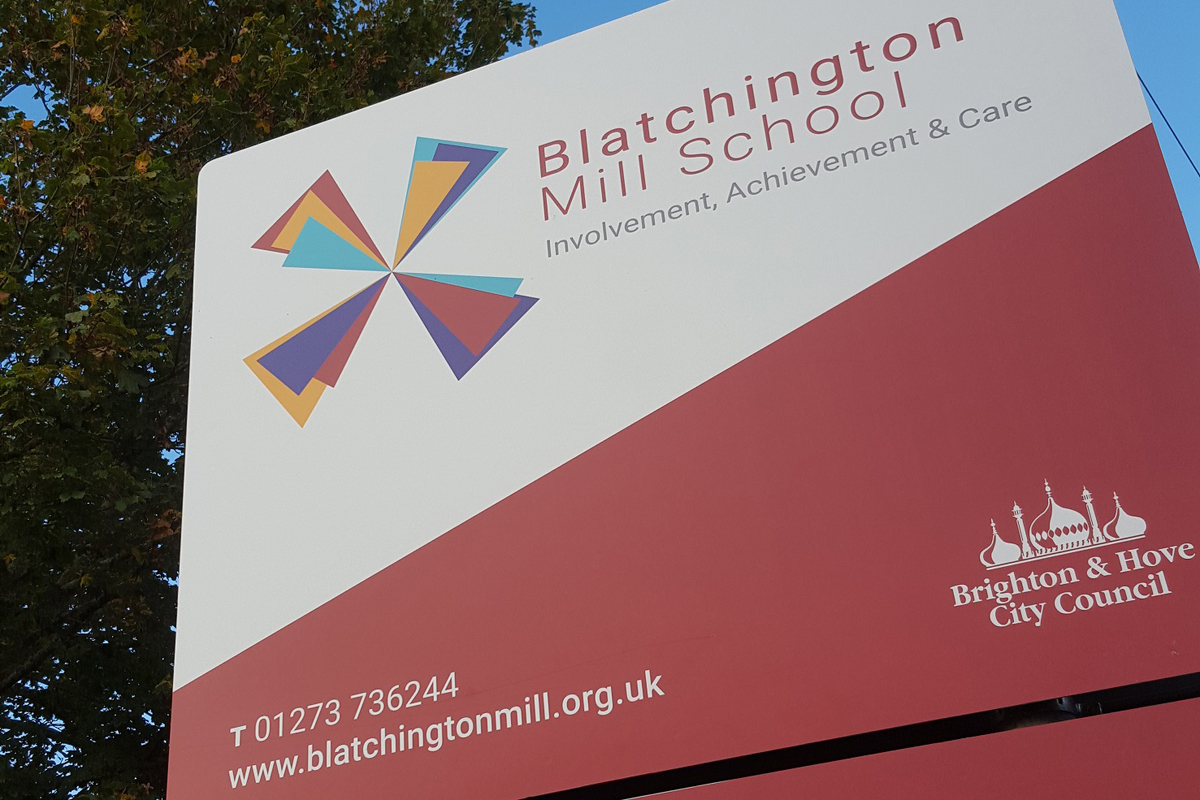 Blatchington Mill School.