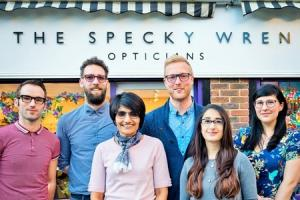Optician bridging the divide between High Street and high end
