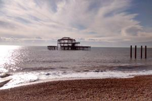 West Pier section collapses in wake of Storm Imogen