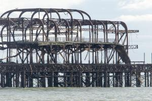 West Pier could completely disappear sooner than we think says engineer after section collapses due to Storm Imogen