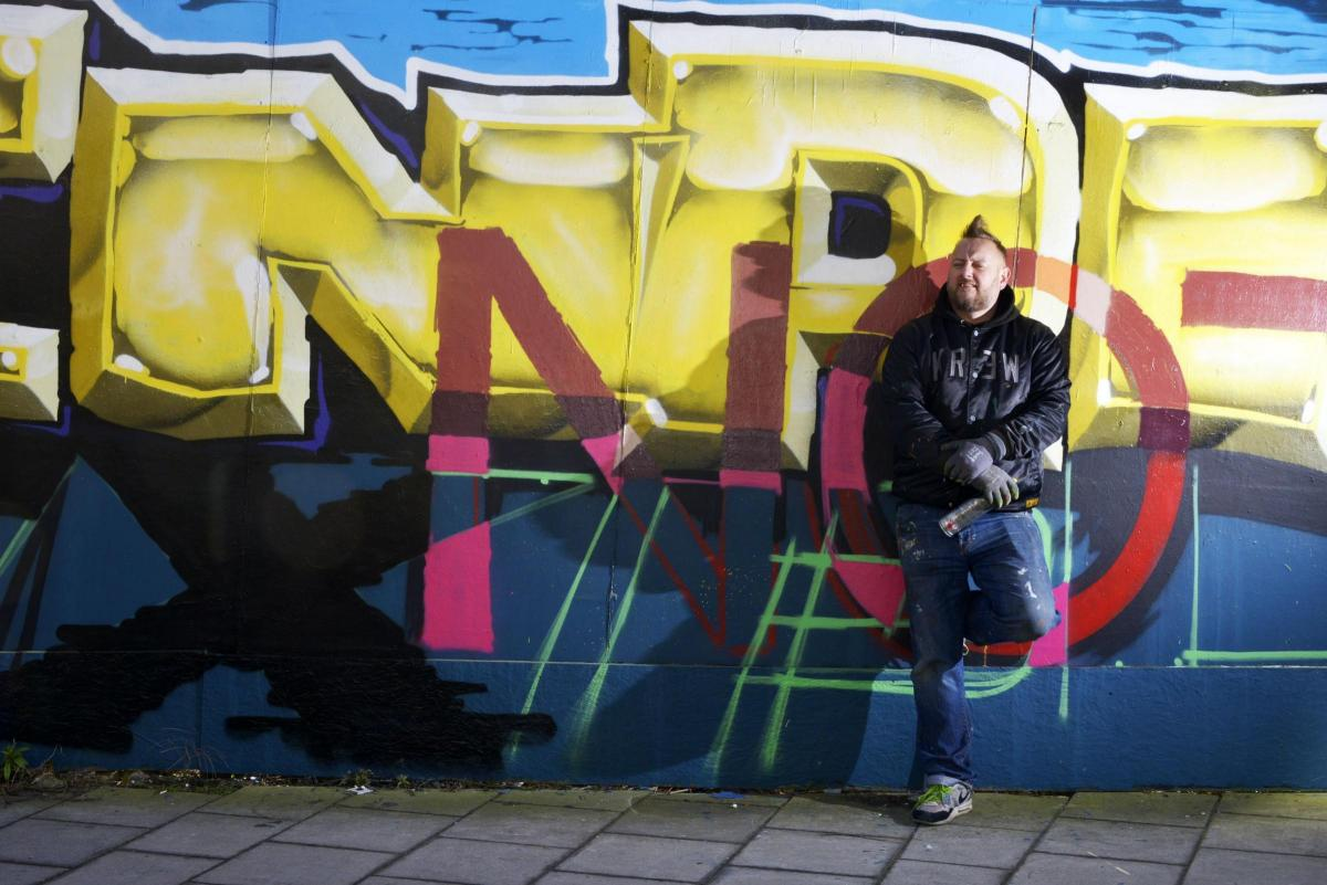 Street art helping Body Shop celebrate its 40th anniversary | The Argus