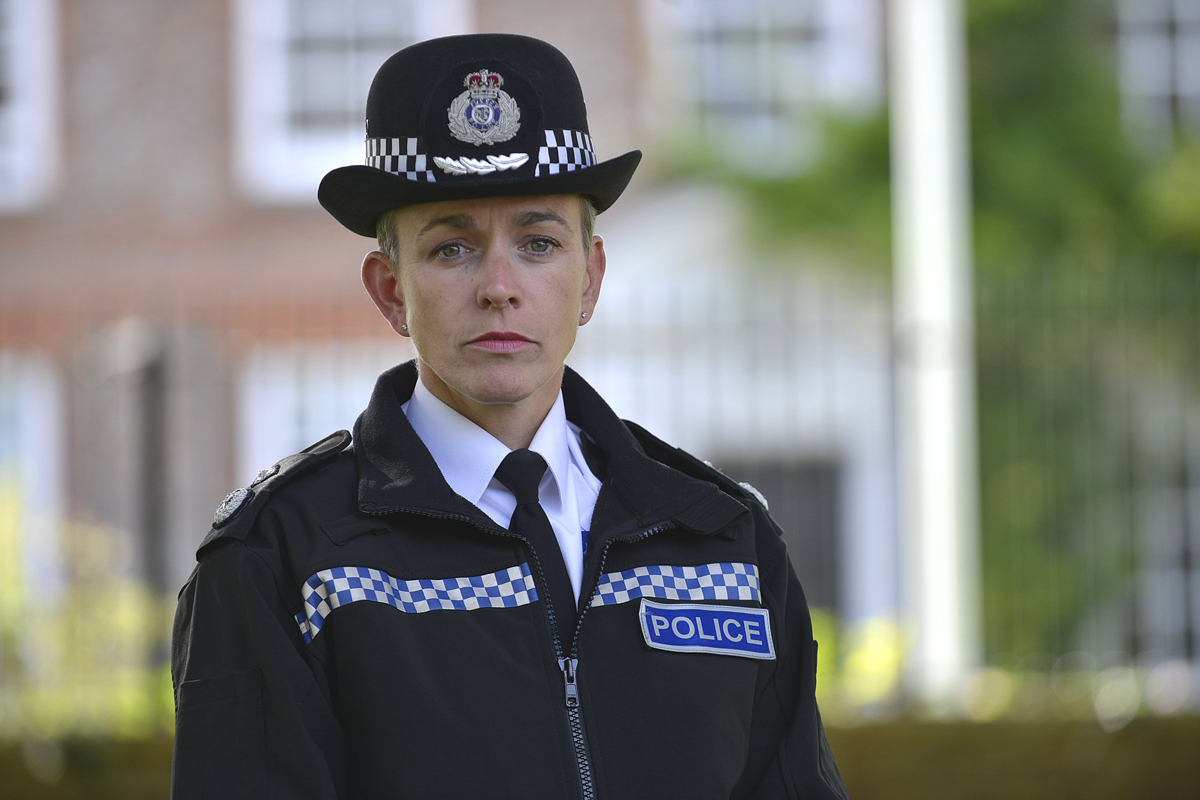 Sussex Police's deputy chief constable Olivia Pinkney
