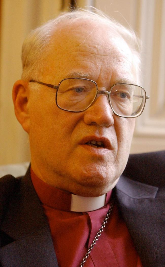 Dr George Carey pictured in 2002 two days before his retirement as Archbishop of CanterburyPicture: John Stillwell / Press Association