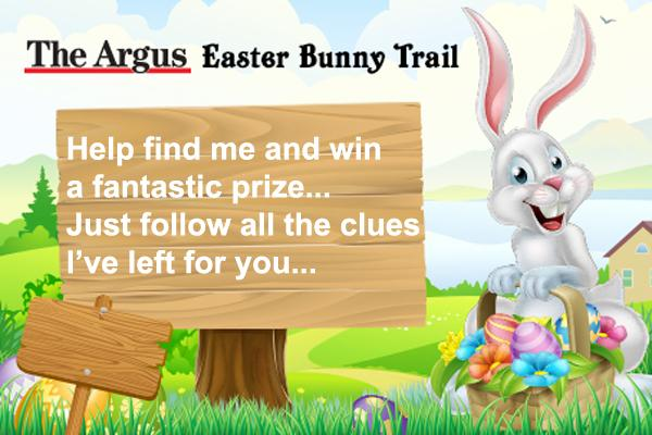 Help the lost Easter Bunny find his way and you could win a fantastic prize