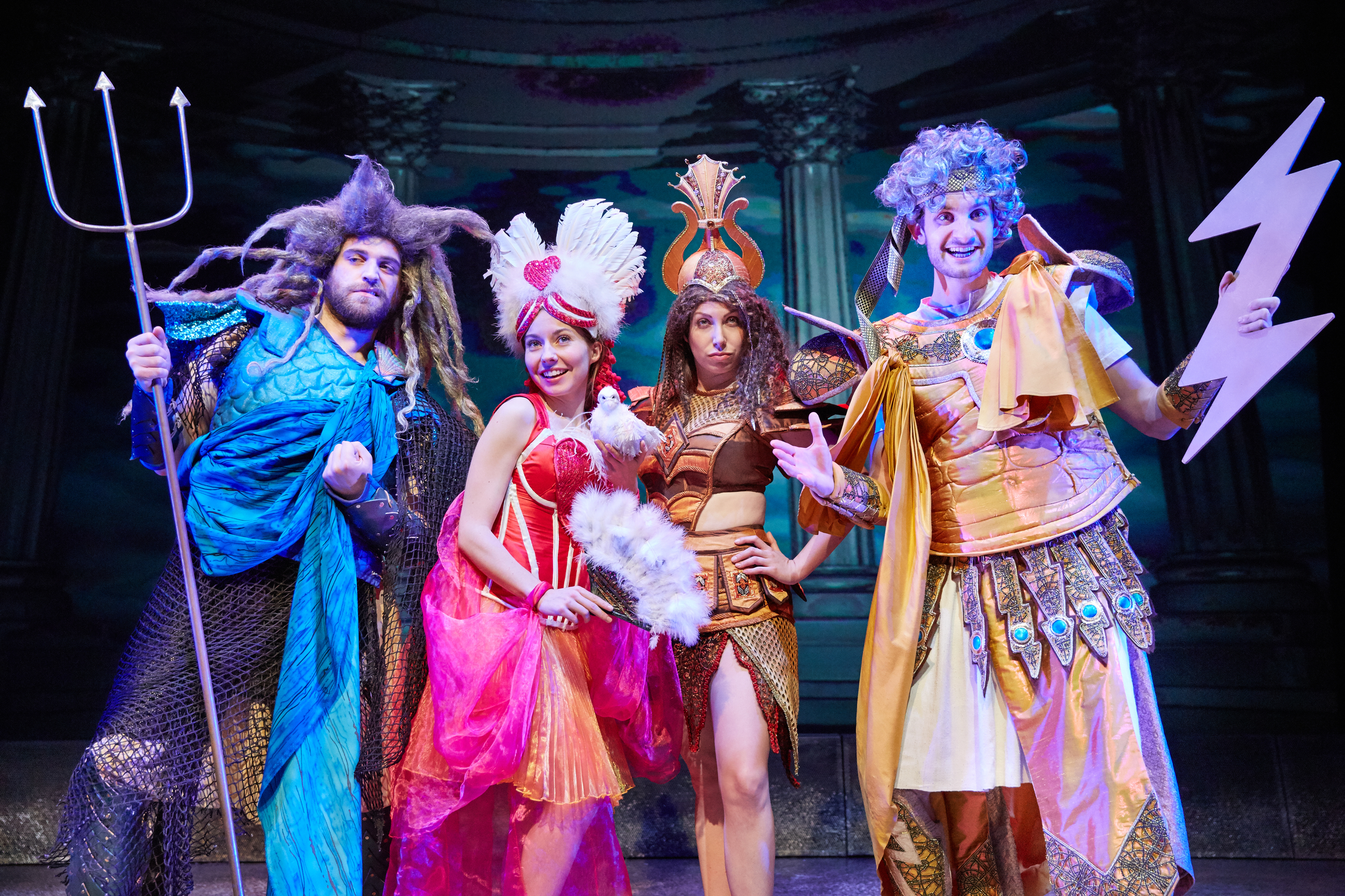REVIEW: Horrible Histories: Groovy Greeks, Theatre Royal Brighton - ★★★