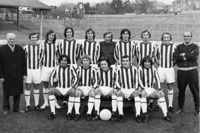 Albion youth team 1971-72