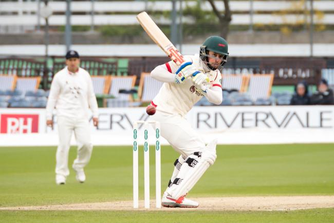 Paul Horton made a century to put Leicestershire in a strong position   Picture: edwardthomasphotography.com