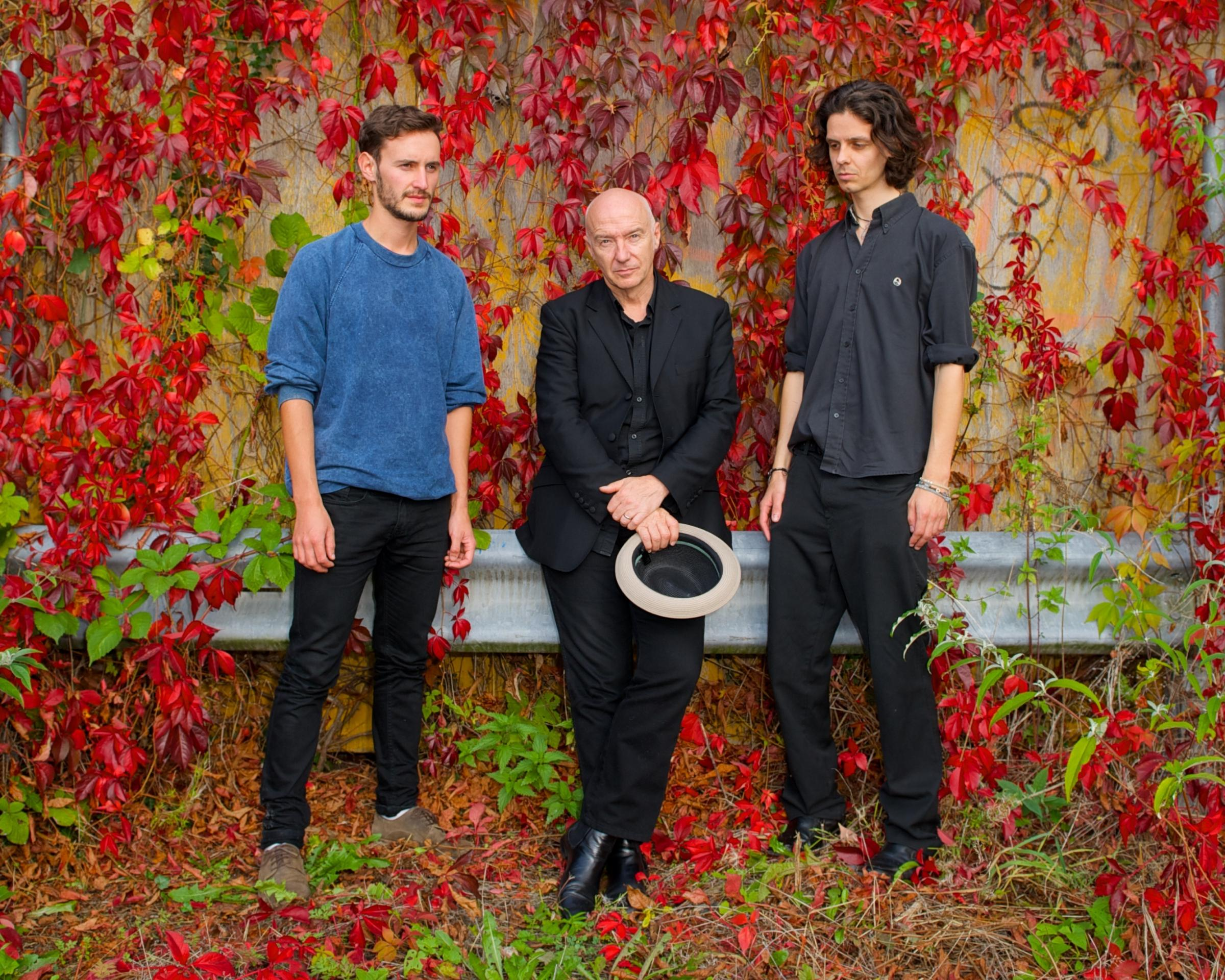 Midge Ure and the Electric India Co shoot