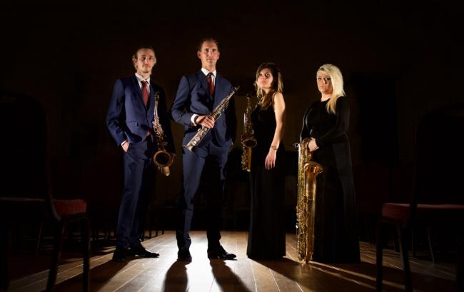 REVIEW: Ferio Saxophone Quartet, Brighton Dome Studio Theatre - ★★★★★