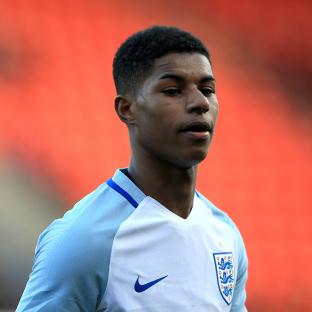 The Argus: Marcus Rashford met up with the England squad on Monday