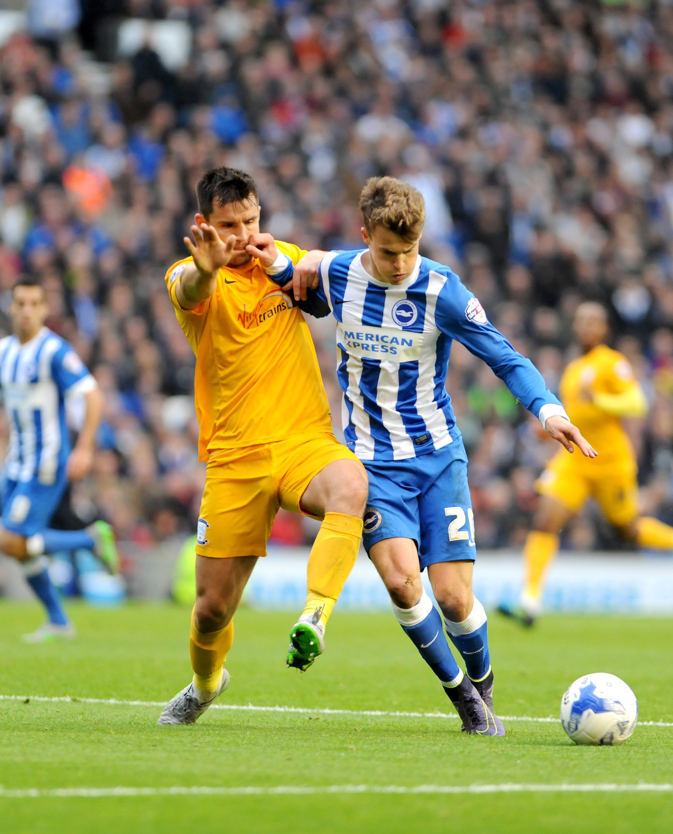 Solly March played another half as he makes his return to fitness
