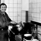 The Argus: Famous chef and entertainer Jean Jaques Jordane from the Laughing Onion restaurant in Brighton, pictured in 1987