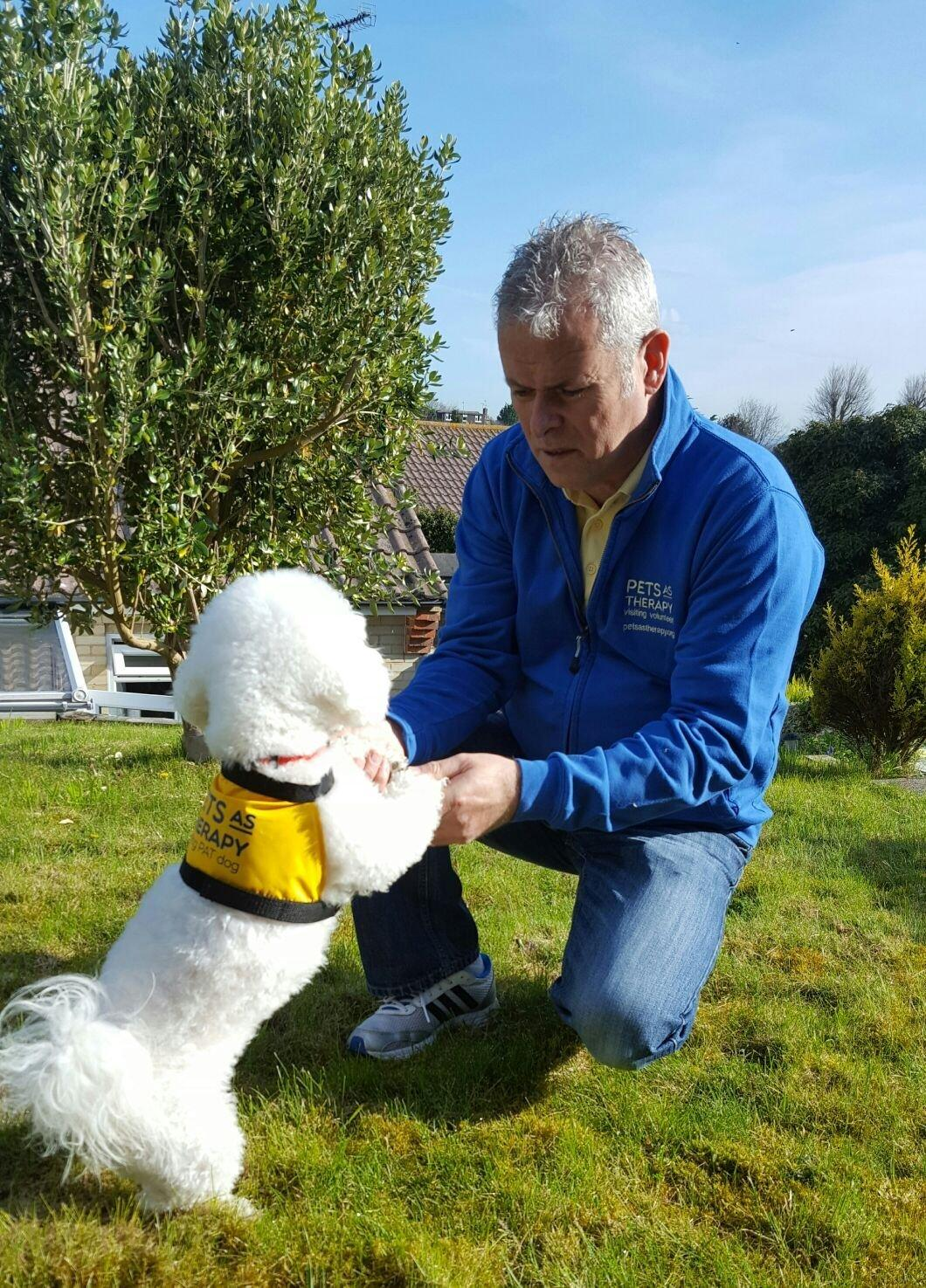 Rescue dog now spends her time helping others | The Argus