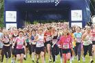 More than 7,500 runners took part in the event at Stanmer Park