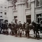 The Argus: Special mounted police during the battle of Lewes Road. Courtesy of David Rowland at Police Museum.