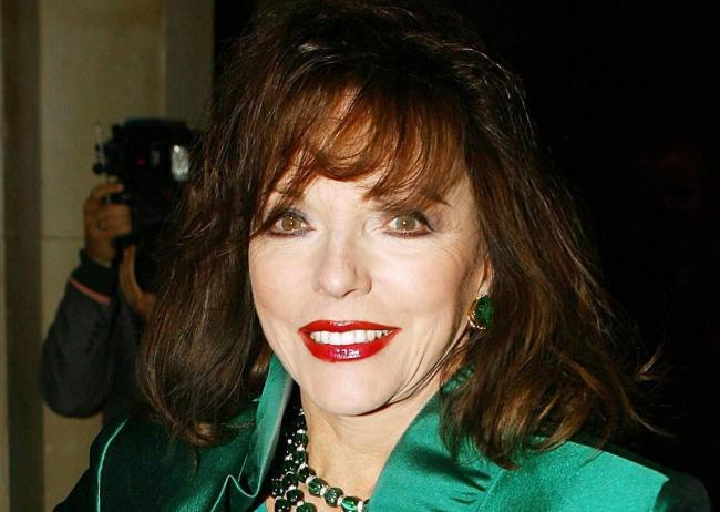 Dame Joan Collins answered audience questions in a special event at Theatre Royal Brighton