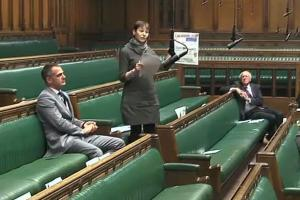 MP Caroline Lucas held up The Argus in the House of Commons on Monday to call for greater transparency on this issue