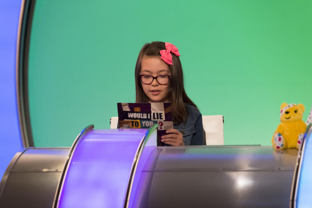 b80585a438b Schoolgirl appears on TV show for BBC Children in Need | The Argus