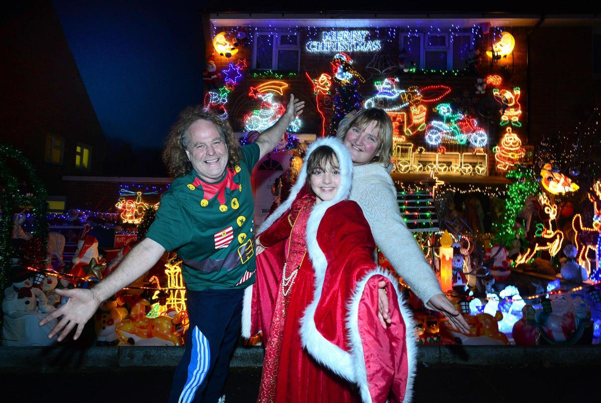 Meet the family who will never think Christmas has come too early ...