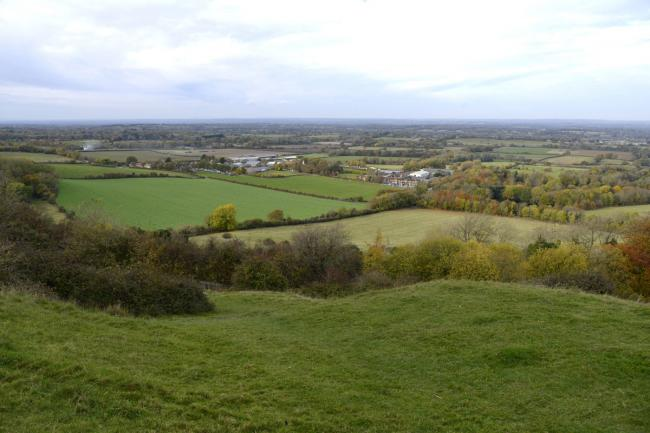 Land near to Plumpton Hill, owned by Brighton and Hove City Council, is up for sale.