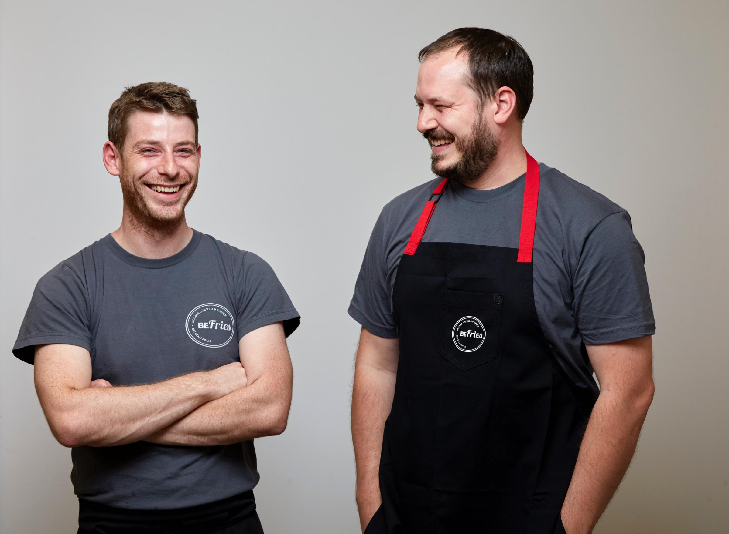 Chan (l) and Dashal Beevers, of BeFries in Brighton