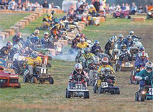 Pulborough mower race a cut above the rest