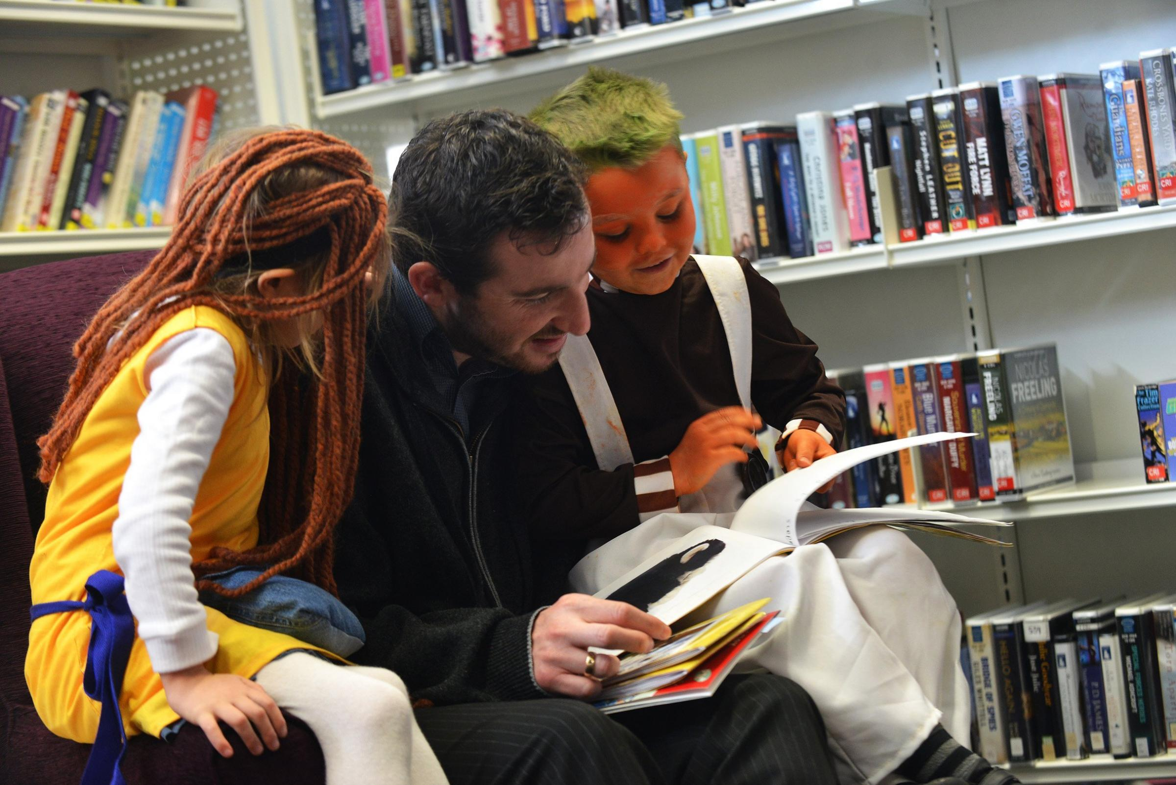 World Book Day encourages reading at libraries but it is feared new charges could discourage families