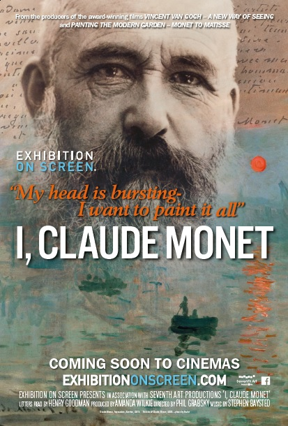 EXHIBITION ON SCREEN presents I, Claude Monet