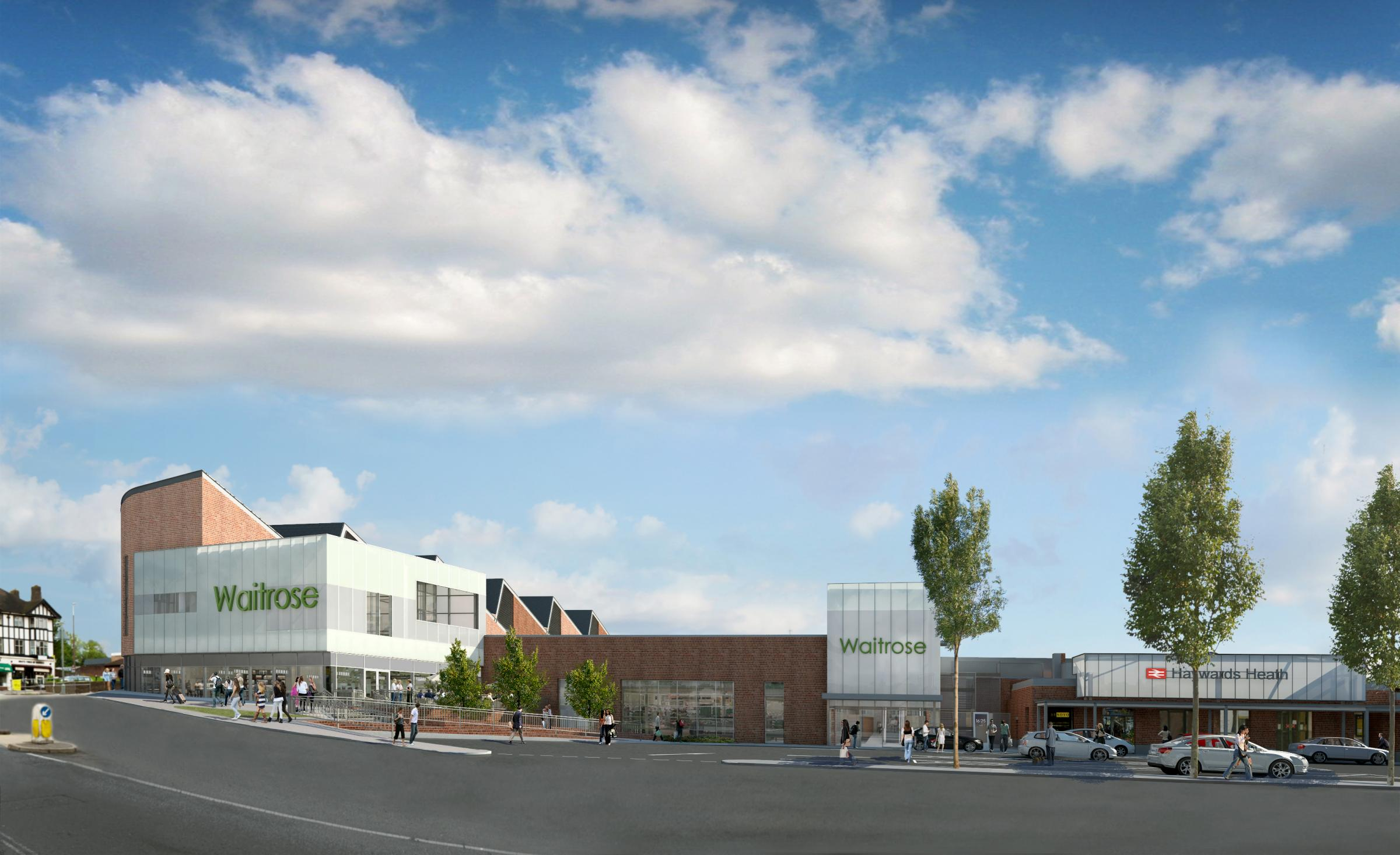 New Waitrose Superstore Will Open To Public In Haywards Heath The