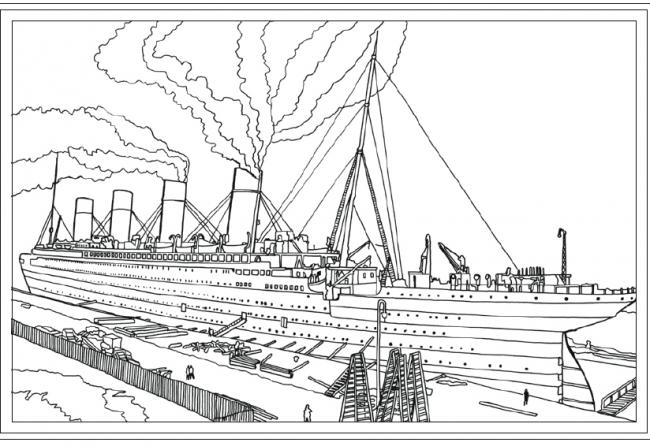 Titanic colouring book hits the shelves   The Argus