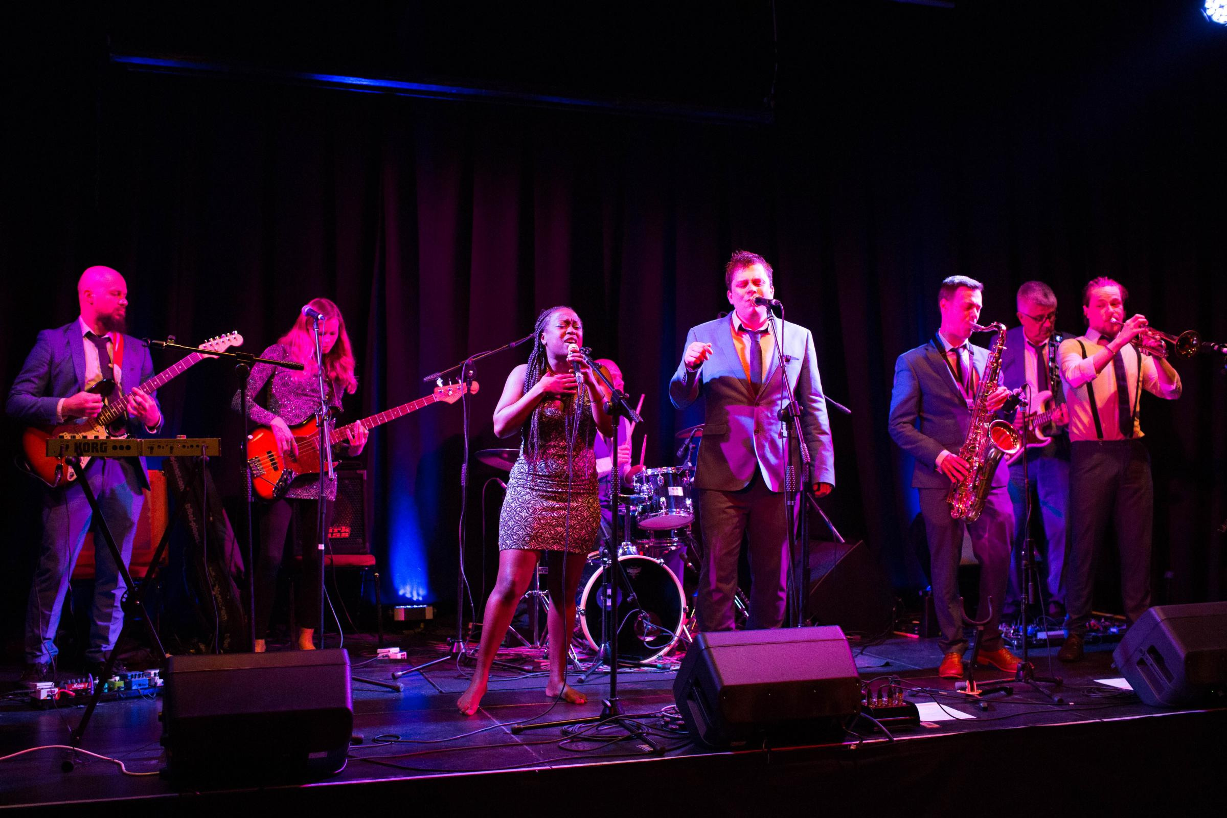 South Coast Soul Revue Live at the Ropetackle