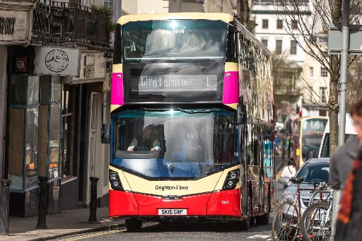 Brighton Bus Services Will Be Severely Disrupted For Three Days This Week