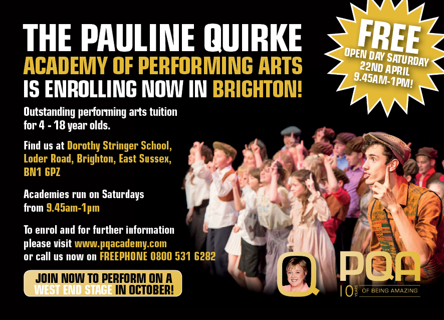 FREE Taster Day at The Pauline Quirke Academy of Performing Arts