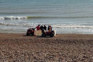 Body of man pulled from sea by passer-by