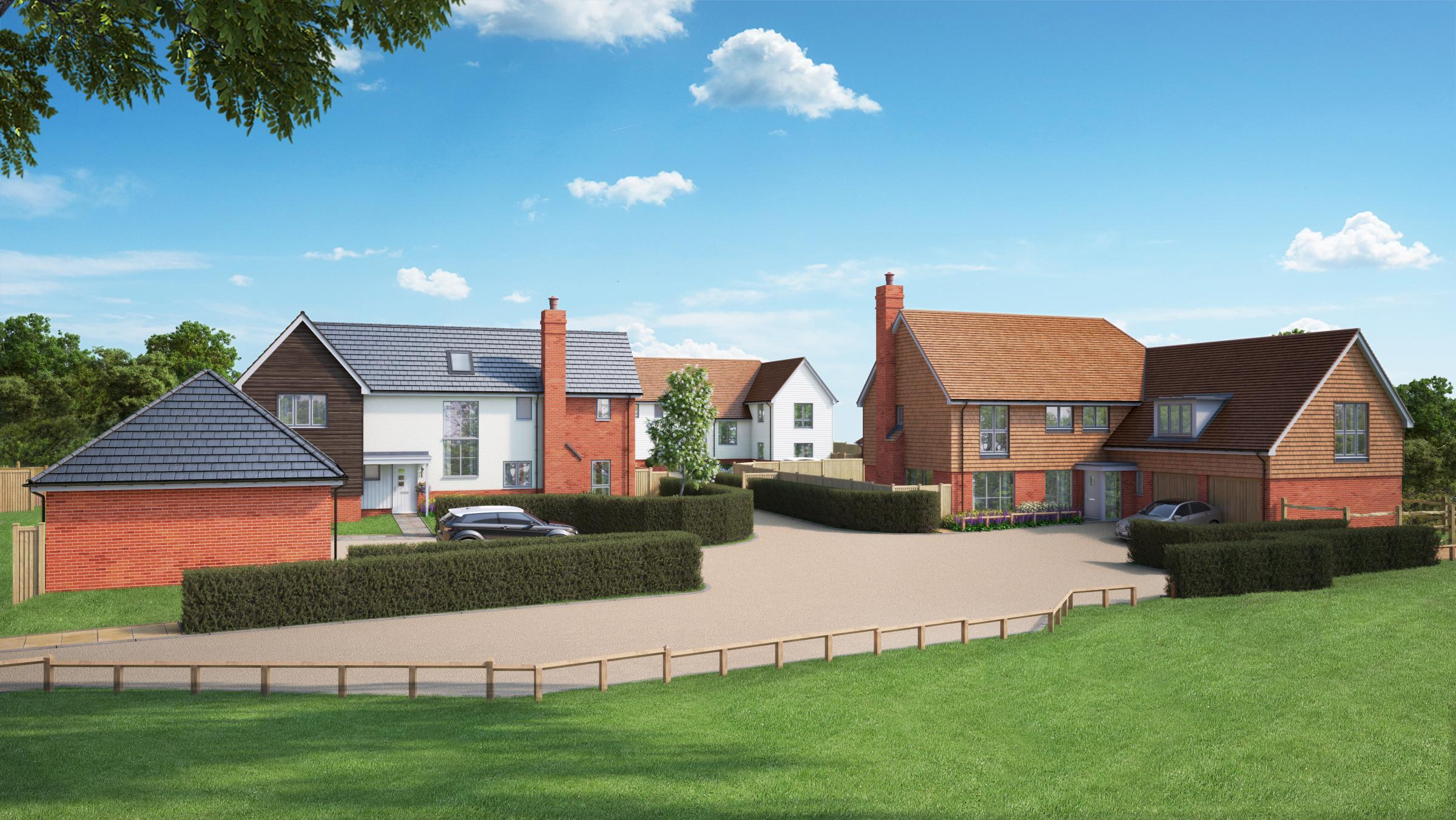 Last chance to live at fast-selling small development from award-winning developer